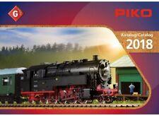 Piko Hauptkatalog 2018 für Spur G Gartenbahn