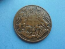 East India Co. One Quarter Anna 1835, Good Condition.