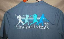 Vineyard Vine Performance Boys Youth, Short Sleeve, Grey T-Shirt, Size Large EUC