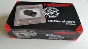REFLECTA CS II 24MM X 36MM GLASSLESS 35MM SLIDE MOUNTS BOX 200