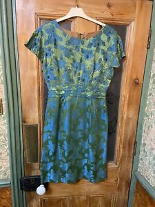 Vintage Satin 1940's/50's Dress