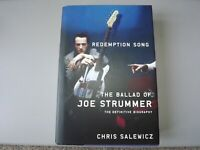 Redemption Song:The Ballad of Joe Strummer Book 1st Hardcover Dust Jacket Clash