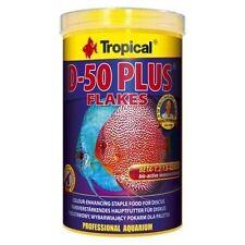 Tropical D-50 PLUS colour-enhancing flakes for discus 250ml 1000ml