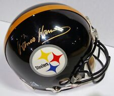 Franco Harris autographed authentic Pittsburgh Steelers proline full size Helmet