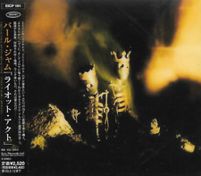PEARL JAM - Riot Act - CD - Epic - EICP-161 - 2002 - Rock - Alternative - Japan