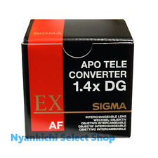 SIGMA Teleconverter lens APO TELE CONVERTER 1.4x EX DG for Canon from Japan New