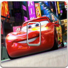Disney Cars Cartoon Light Switch Vinyl Sticker Decal for Kids Bedroom #17