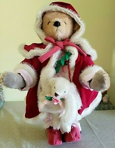 Vintage 1987 Beverly Port Time Machine Teddy Miss Emily LE