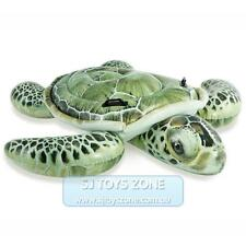 Intex Inflatable Ride On - Realistic Sea Turtle Lounge Float Swimming Kids Toy