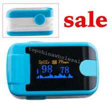 LED Finger Pulse Oximeter-Spo2 Monitor Blood Oxygen Pressure tester + Lanyare CE