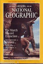 National Geographic June 1989 Dinosaurs Extinctions Malta Computer Graphics