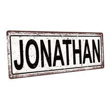 Jonathon Metal Sign; Wall Decor for Kids Room or Nursery