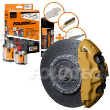 FOLIATEC Bremssattellack Gold metallic Bremssattelfarbe Bremssattel Motorlack
