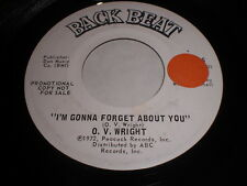 O.V. Wright: I'm Gonna Forget About You / Drowning On Dry Land 45
