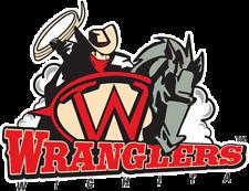 Wichita Wranglers 1989-2007 Minor Baseball Team Mens Polo XS-6XL, LT-4XLT New