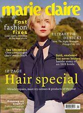MARIE CLAIRE UK January 2017 Elizabeth Debicki - Hair Special - Sex Life Reboot
