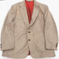 Vintage Pagano West Mens Western Cowboy Rockabilly Sport Coat Blazer Jacket