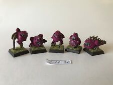 Warhammer Orcs and Goblins   - Cabe Squigs - Resin / Finecast x 5