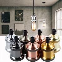 Pendant Lamp Vintage Light Bulb Holder Antique Retro Edison E26 E27 Fitting UK