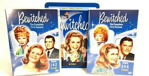 Bewitched DVD Set The Complete First Season In Color 4 Disc Collectible Tin