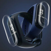 5PCS Protective Soft Clear Screen Protector Film For Xiaomi Mi Band 3 Wristband