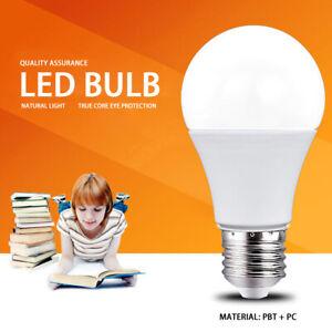 Home Globe LED Light Bulb Lamp 7000K Cold White E27 Indoor Lighting 5 7 9 12W JT