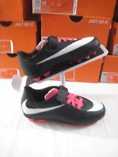 New Jr Nike Bravata V FG-R Velcro Soccer Cleats Youth Sz 11C 11 Kids Girls Pink