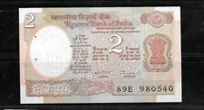 INDIA #79M 1992 MINT CRISP 2 RUPEE OLD CURRENCY BANKNOTE BILL NOTE PAPER MONEY