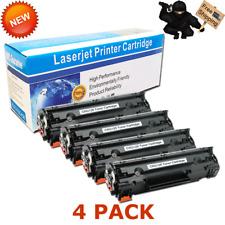 4PK 128 Toner Cartridge for Canon 128 ImageClass D530 MF4770n MF4880dw MF4890dw