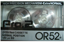 Sealed Open Reel Cassette PRO.2 OR52 m. (Silver color) --FREE SHIPPING WW!!--