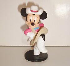 Figurine figur MICKEY MOUSE MINNIE  COW GIRL DISNEY APPLAUSE (6cm)