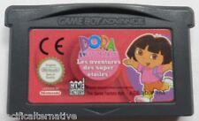 jeu DORA L'EXPLORATRICE les aventures des super étoiles nintendo gameboy advance