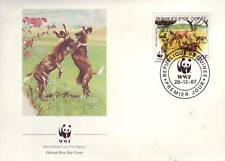 629+ FDC ENVELOPPE 1er JOUR ANIMAUX SAUVAGES GUINEE