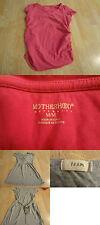 Women's Motherhood Maternity & TEAM Sz M Set Of 2 Shirts