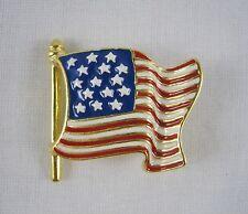 Estate Sale NEW Smithsonian Institution USA Star Spangled Banner Pendant Pin NIB