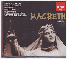 VERDI MACBETH (CD, Oct-2012, EMI Classics) NEW
