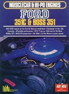 Musclecar & Hi-Po Engines Ford 351C & Boss 351