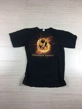 The Hunger Games T-Shirt Men's Small Black Movie Tee Science Fiction Adventure