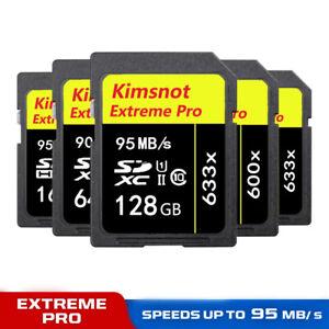 SD Memory Card SDHC Flash For Digital Camera Camcorder 128GB 64GB 32GB 16GB 8GB