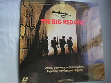 THE BIG RED ONE laserdisc PAL1980 Lee Marvin