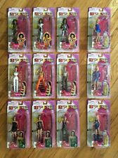 "LOT OF 12, VTG. 1998 TOYMAX, SPICE GIRLS, 6"" FIGURES (COMPLETE SET ) NEW, RARE!"