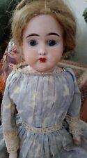 "Antique German Bisque 16"" Doll Columbia 1"