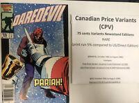 Daredevil (1985) # 229 (NM) Canadian Price Variant (CPV)  !! Frankie Miller!
