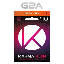 Karma Koin 10 USD Prepaid Card Digital Code 10 Dollars BUY ONLINE [US]