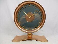 Rare/Rare KIENZLE tipo vetrini H. Möller Design Stupendo OROLOGIO DA TAVOLO DESK CLOCK SERVICED!