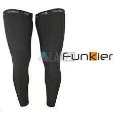 Funkier Lw03 Winter Thermal Leg Warmers Black In X Large
