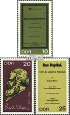 DDR 1365A-1367A (complete.issue) unmounted mint / never hinged 1968 Karl Marx