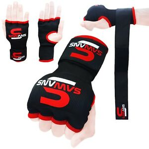 O Boxing Gel Gloves Hand wraps Punch Bag Inner Glove MMA Martial Arts UFC Gear E