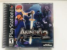 Alundra 2 (Sony PlayStation 1, 2000) PS1 PS2 FAST SHIPPPING!