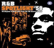 ** VARIOUS ARTISTS  RHYTHM & BLUES SPOTLIGHT 58  2CD  WALL TO WALL CLASSICS!!